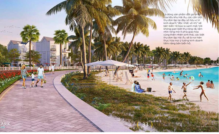 phân khu dự án vinhomes ocean park
