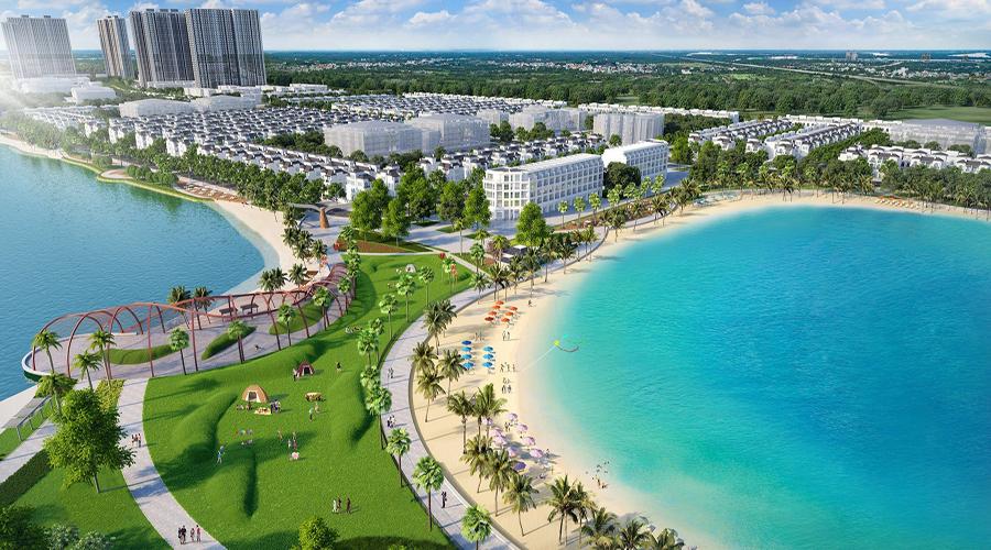 biển hồ dự án vinhomes ocean park
