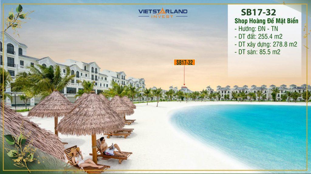 Biệt thự Sao Biển 17-32: Ngọn Hải Đăng sáng nhất Vinhomes Ocean Park
