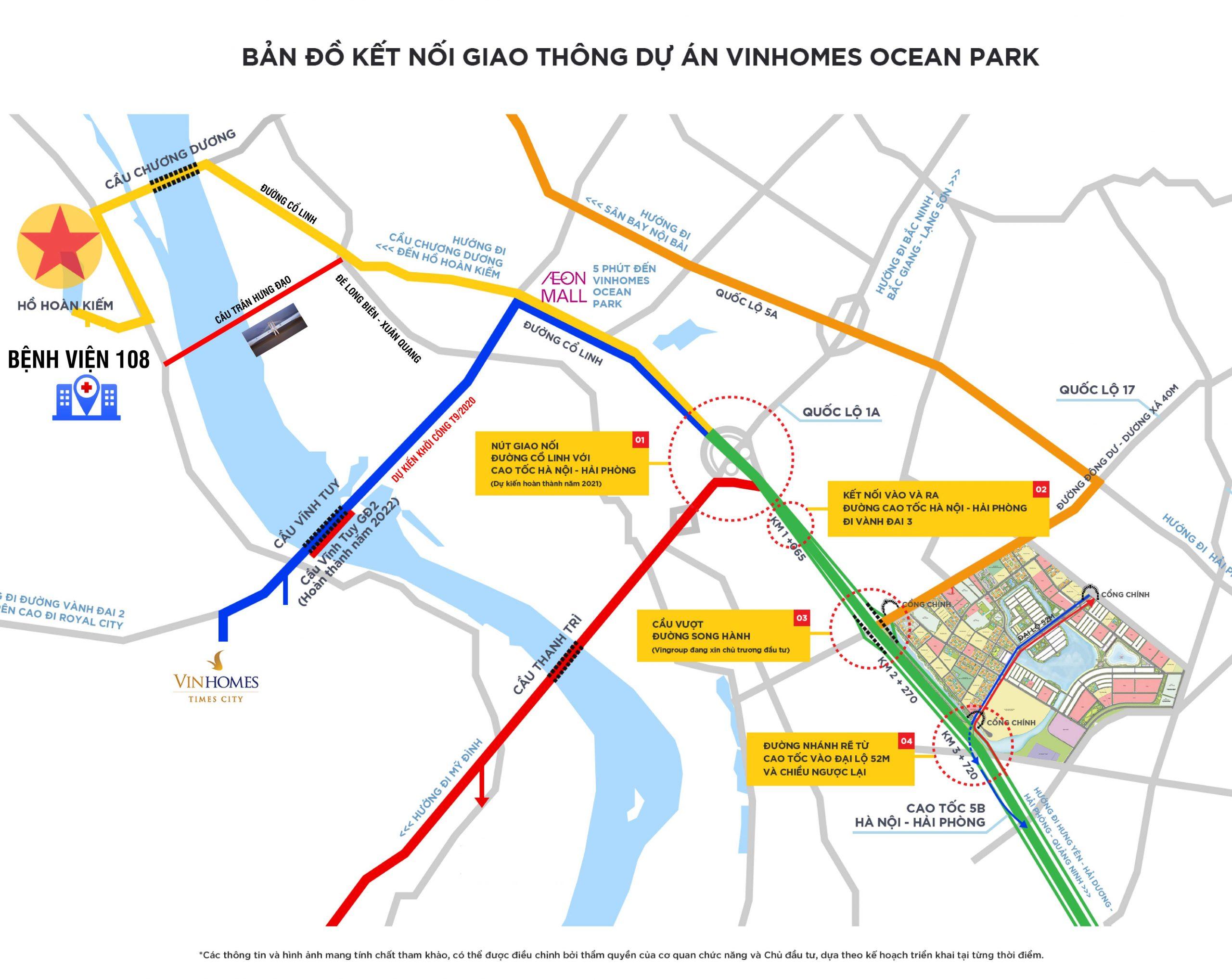 vị trí vinhomes ocean park